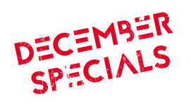 December Specials rubber stamp Royalty Free Stock Photo