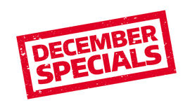 December Specials rubber stamp Royalty Free Stock Photography