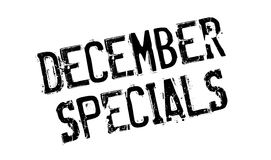 December Specials rubber stamp Royalty Free Stock Images