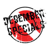 December Specials rubber stamp Royalty Free Stock Photos