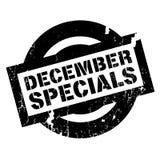 December Specials rubber stamp Stock Images
