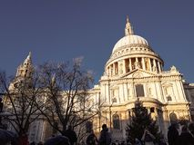 December 28th, 2017, domkyrka för London, England - Saint Paul ` s Royaltyfri Bild