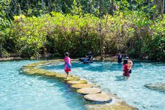 """22 December 2018-Thailand:: vatten för smaragd för  för € för """"PA Ton Namâ i djungeln arkivfoton"""