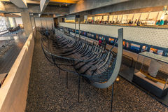 December 04, 2016: Treasure of the Viking Ship Museum of Roskild Stock Photography