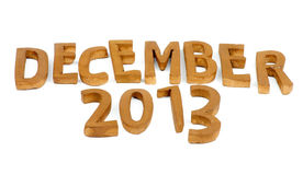 December 2013 Stock Photos