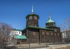 Decembrists的教会,赤塔 库存照片