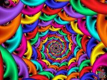 Decend espiral Imagen de archivo libre de regalías