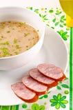 Decent Polish soup Stock Photo