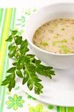 Decent Polish soup Stock Photos