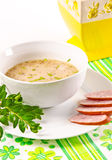 Decent Polish soup Royalty Free Stock Photo