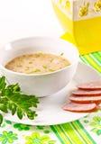Decent Polish soup Royalty Free Stock Photo