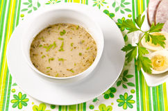 Decent Polish soup Royalty Free Stock Images