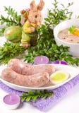 Decent Polish soup. Zurek is a decent Polish soup Stock Image