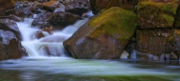 Deception Creek, Washington State. In the cascades Mountains during summer royalty free stock images