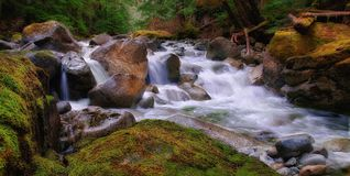 Deception Creek, Washington State Stock Photography