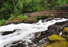 Deception falls at North Cascade Royalty Free Stock Photography