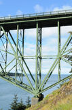Deception pass bridge Royalty Free Stock Photos