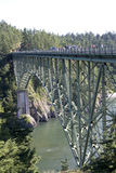 Deception Pass Bridge Stock Photography