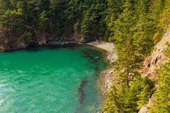 Deception Pass cove Royalty Free Stock Photos