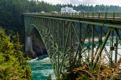 Deception Pass crossing Stock Images