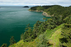 Deception pass state park Royalty Free Stock Photography