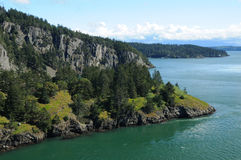Deception pass state park Stock Image