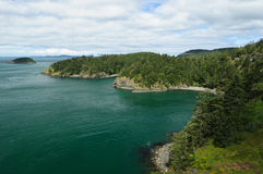 Deception pass state park Royalty Free Stock Photos