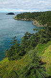Deception pass state park Stock Photos