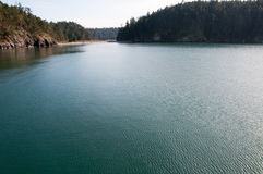 Deception pass state park. Beautiful view of deception pass state park, whidbey island, washington, usa stock images