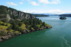 Deception pass state park washington Royalty Free Stock Photos