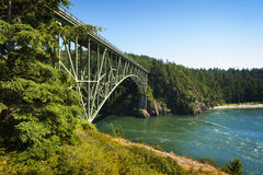 Deception Pass State Park, Washington Royalty Free Stock Photo