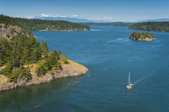 Deception Pass State Park, Washington Royalty Free Stock Photography