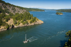 Deception Pass State Park, Washington Royalty Free Stock Images