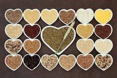 Dechado de la comida de grano Imagen de archivo