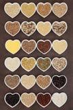 Dechado de la comida de grano Imagen de archivo libre de regalías