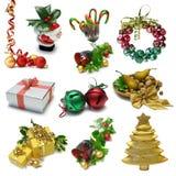 Dechado dos de la Navidad Foto de archivo libre de regalías
