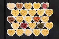 Dechado italiano de las pastas foto de archivo libre de regalías