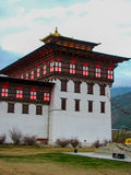 Dechencholing Palace in bhutan Royalty Free Stock Image
