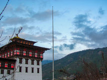 Dechencholing Palace in bhutan Stock Photography