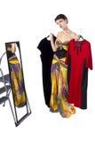 Deciding on Clothes Stock Photos