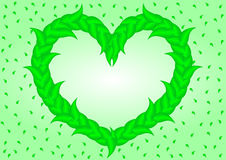 Deciduous heart Stock Images
