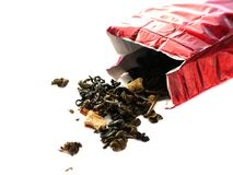 Deciduous tea Stock Image