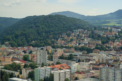 Decin,捷克共和国 免版税库存照片