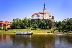 Decin, Δημοκρατία της Τσεχίας Στοκ εικόνα με δικαίωμα ελεύθερης χρήσης