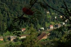 Decin, Чешская Республика стоковое фото rf