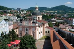 Decin, Czech republic Stock Photos