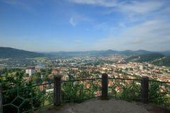 DECIN, CZECH REPUBLIC. Decin town, North Bohemia, Czech republic Royalty Free Stock Photography