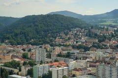 DECIN, CZECH REPUBLIC. Decin town, North Bohemia, Czech republic Royalty Free Stock Photo