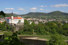 Decin scenery Royalty Free Stock Photo