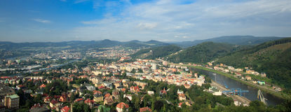 Decin, Tschechische Republik Stockfotos